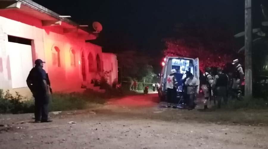 Ataque armado deja una persona sin vida y otro lesionado en Tuxtepec, Oaxaca
