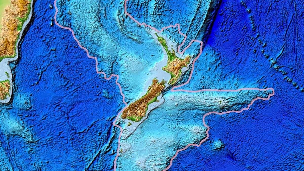 Tasmantis, el gran continente acuático escondido.