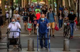 Primer día sin muertes después de tres meses en España