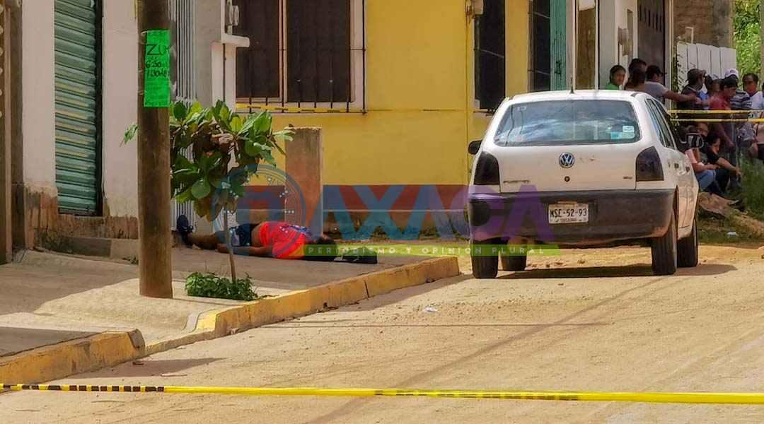 Ataque armado deja una mujer sin vida y un hombre lesionado en Santa Cruz Xoxocotlán