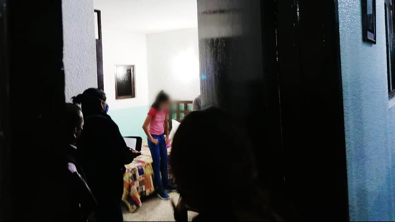 Rescata SSPO a una menor de origen Salvadoreña