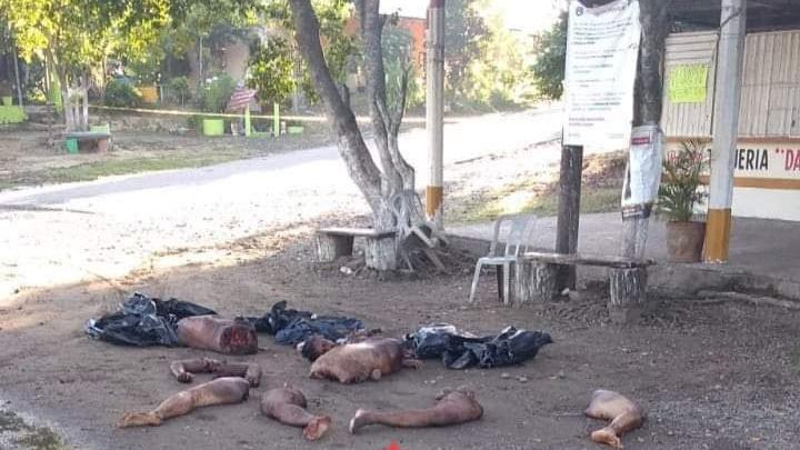 Tras visita de Alejandro Murat, a Soyaltepec aparecen dos cuerpos descuartizados