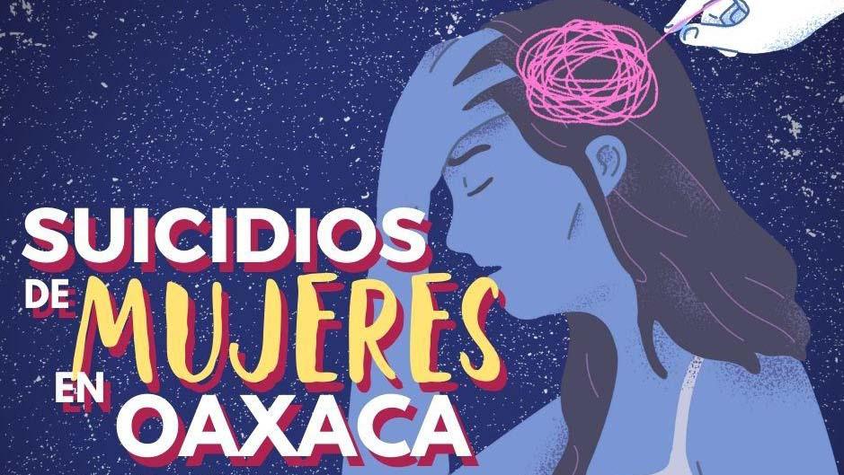 Adolescentes y jóvenes: 60% del total de suicidios de mujeres en Oaxaca
