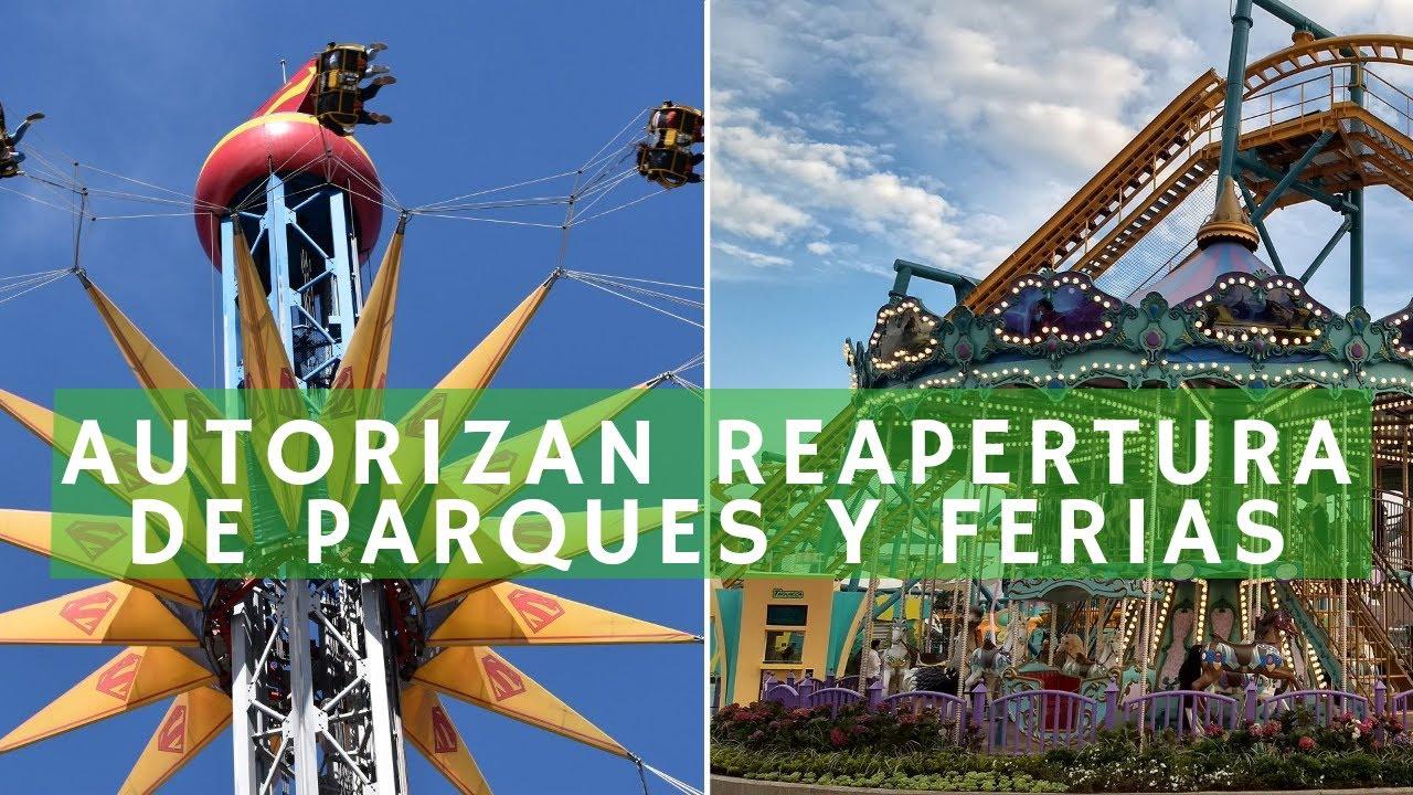 Abrirán ferias y parques de diversiones en CDMX