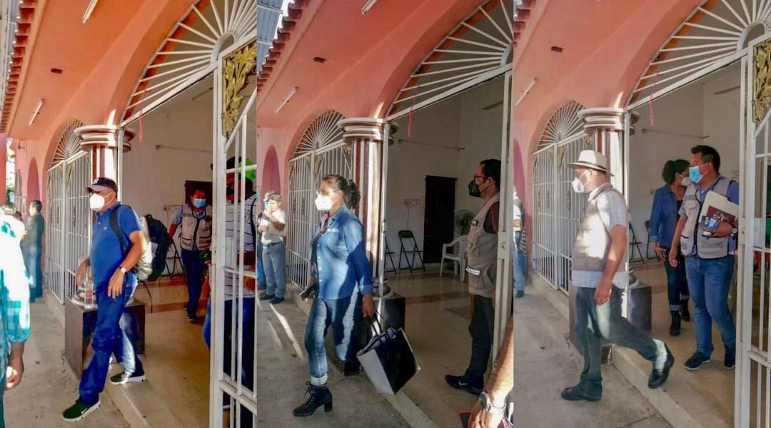 Liberan a las y los funcionarios retenidos en la agencia de Santa María Huamelula, Oaxaca