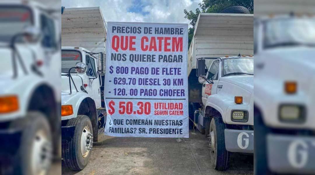 CATEM denigra a trabajadores ofrece precios de «hambre» a materialistas de Tabasco y Cancún