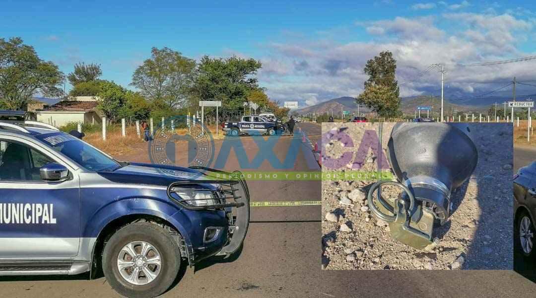 Localizan granada en Tlacolula de Matamoros, Oaxaca